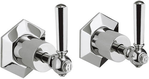 Additional image for Stop Taps With Chrome Lever Handles.