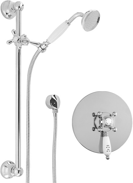 Additional image for TMV2 Thermostatic Concealed Shower Valve Kit (Chrome).