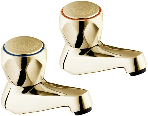 Additional image for Bath Taps (Gold, Pair).