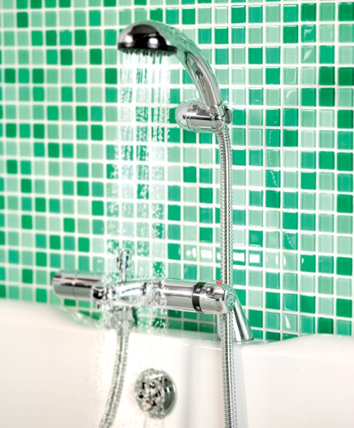 Additional Image For Dynamic Thermostatic Bath Shower Mixer With Kit