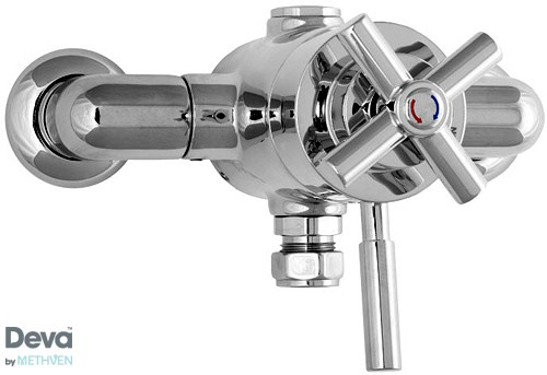 Additional image for Exposed Thermostatic Shower Valve, Multi Mode Kit & Regulator.