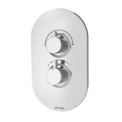 Additional image for Kaha Concealed Thermostatic Mixer Shower Valve (ABS, 2 Outlets).