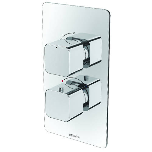 Additional image for Kiri Concealed Thermostatic Mixer Shower Valve (Chrome, 1 Outlet).