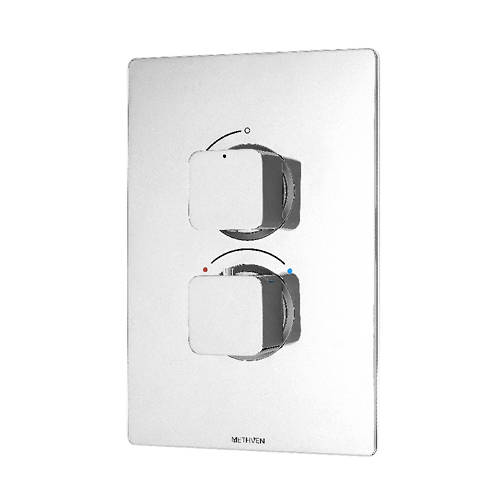 Additional image for Kiri Concealed Thermostatic Mixer Shower Valve (ABS, 1 Outlet).