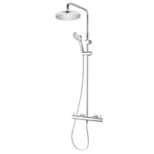 Additional image for Kiri MK2 Cool To Touch Thermostatic Bar Shower Pack (Chrome).