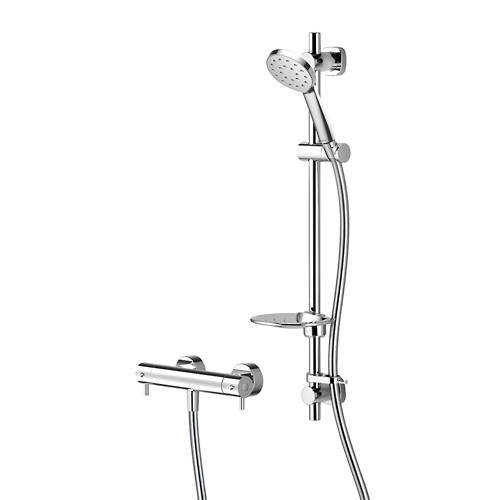 Additional image for Kiri MK2 Cool Touch Thermostatic Bar Shower With Easy Fit Kit.