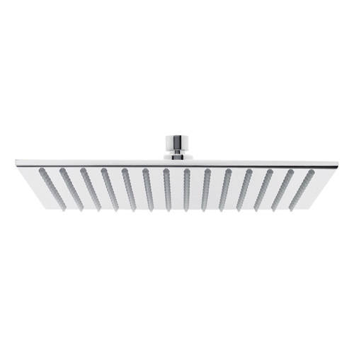 Additional image for Square Thin Brass Shower Head 300x300mm (Chrome).
