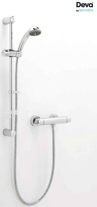 Additional image for Thermostatic Bar Shower Valve With Single Mode Kit.