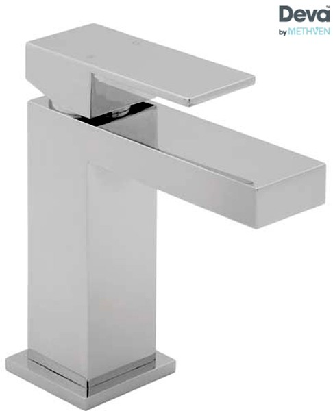Additional image for Mono Basin Mixer Tap With Press Top Waste (Chrome).