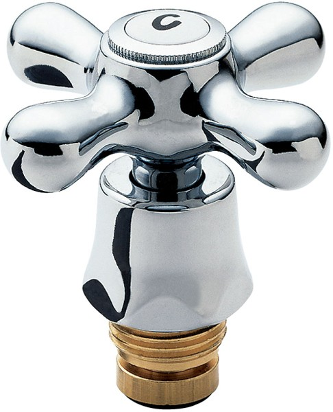 Conversion Tap Heads Kit With Pair Of Chrome Handles