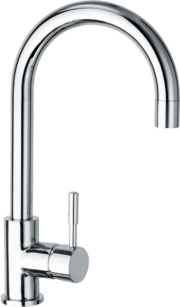 Additional image for Vision Monoblock Kitchen Sink Mixer with Arched Spout.