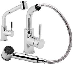 Additional image for Single Lever Pull Out Rinser With Swivel Spout.