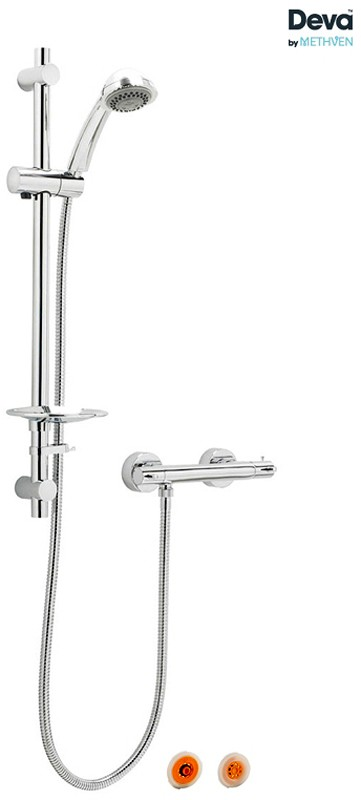Additional image for Thermostatic Bar Shower Valve With Multi Mode Kit & Flow Regulator.