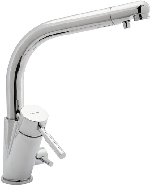 Additional image for Str3am Modern Water Filter Kitchen Tap (Chrome).