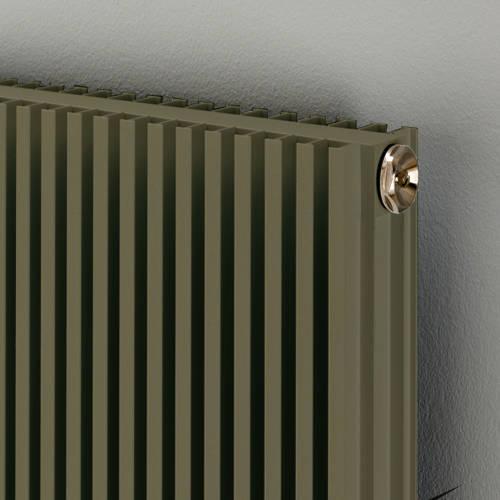 Additional image for Vertical Aluminium Radiator 1826x400 (Grey Beige).