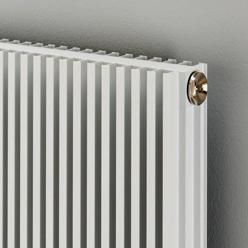 Additional image for Vertical Aluminium Radiator 1826x560 (White).
