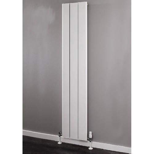 Additional image for Vertical Aluminium Radiator 1800x596 (White).