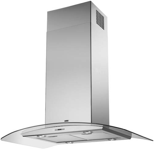 Glass Curved Cooker Hood 60cm Stainless Steel Franke
