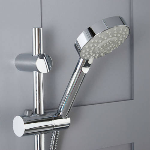 Additional image for Aqua GRS1 Thermostatic Digital Shower Pack (Chrome).