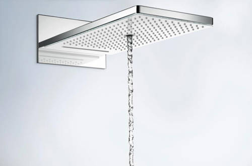 Additional image for Rainmaker Select 580 3 Jet Shower Head (White & Chrome).