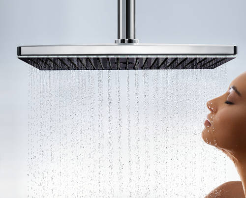 Additional image for Rainmaker Select 460 1 Jet Shower Head (Black & Chrome).