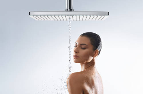 Additional image for Rainmaker 3 Jet Shower Head (460mm, White & Chrome).
