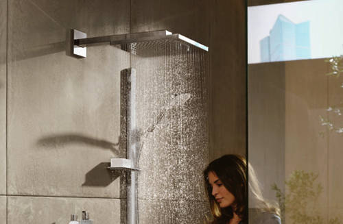 Additional image for Raindance E 300 1 Jet Shower Head & Wall Arm (300x300mm).