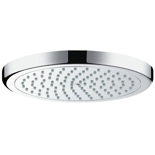 Additional image for Croma 220 1 Jet EcoSmart Shower Head (220mm, Chrome).