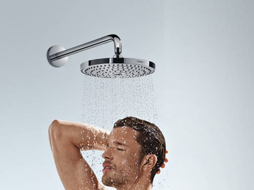 Additional image for Raindance S 240 Air 2 Jet Shower Head & Arm (240mm, Chrome).