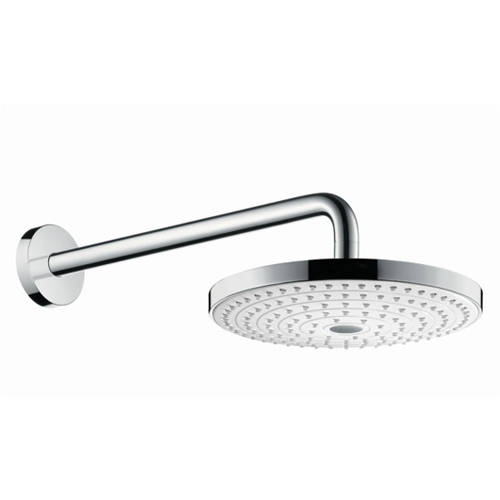 Additional image for Raindance S 240 2 Jet Eco Shower Head & Arm (White & Chrome).