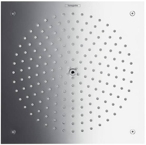 Additional image for Raindance Air 1 Jet Eco Shower Head (260x260mm, Chrome).