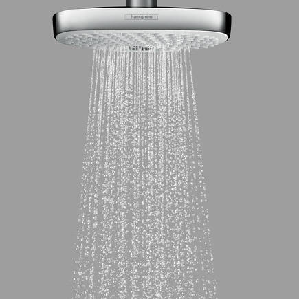 Additional image for Croma Select E 180 2 Jet Eco Shower Head (White & Chrome).