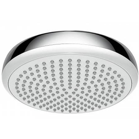 Additional image for Crometta 180 1 Jet Shower Head (Low Pressure, White & Chrome).
