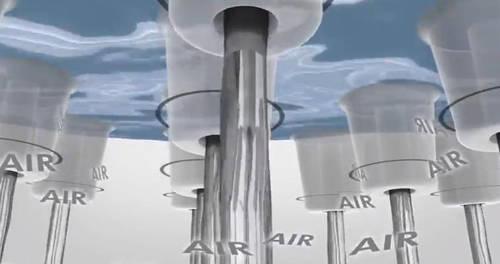 Additional image for PuraVida 400 Air 1 Jet Eco Shower Head & Arm (White & Chrome).