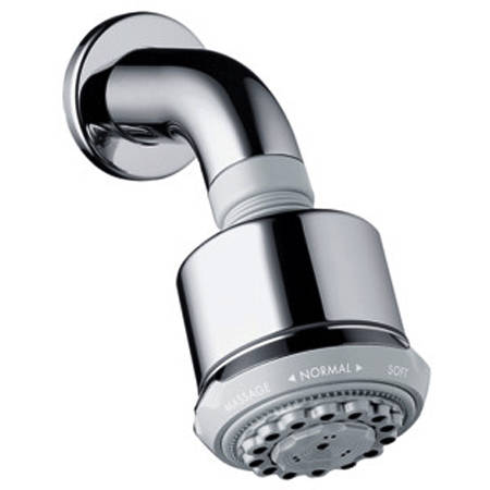 Additional image for Clubmaster 3 Jet Shower Head With Wall Mounting Arm (85mm).