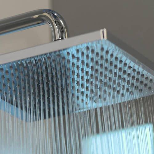 Additional image for Crometta E 240 1 Jet Shower Head (240mm, Chrome).