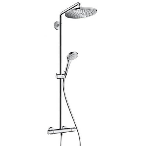 Additional image for Croma Select 280 Air 1 Jet Showerpipe Pack With EcoSmart.