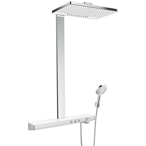 Additional image for Rainmaker Select 460 2 Jet EcoSmart Shower (White & Chrome).