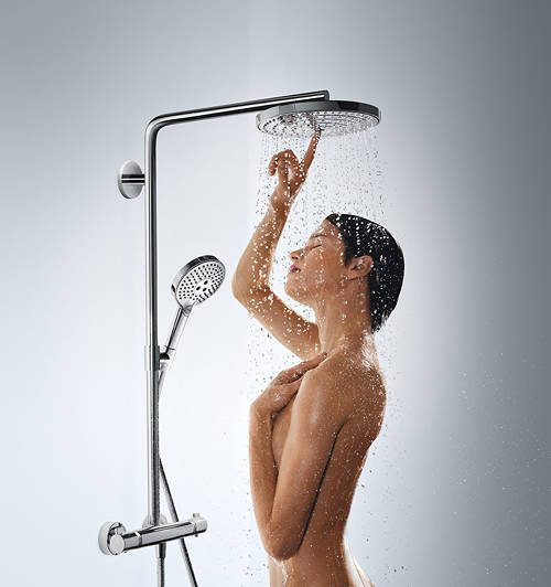 Additional image for Raindance Select S 240 2 Jet Showerpipe Pack (Chrome).