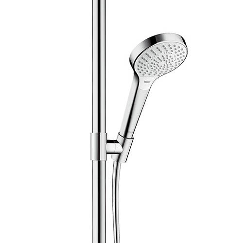 Additional image for Croma Select S Multi Semipipe Shower Pack (White & Chrome).
