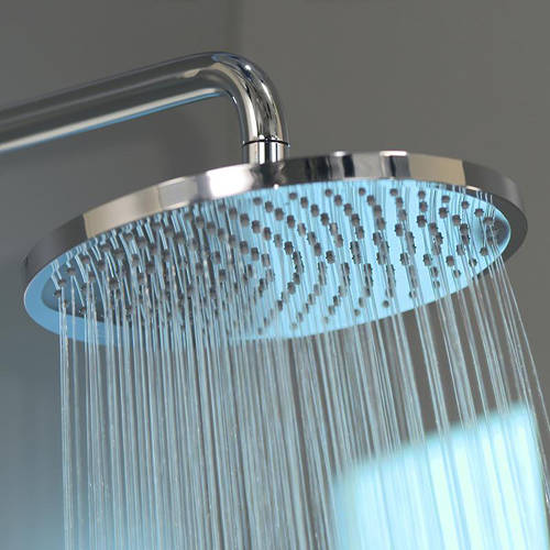 Additional image for Crometta S 240 1 Jet Showerpipe Pack With EcoSmart (Chrome).
