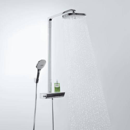 Additional image for Raindance Select E 300 2 Jet EcoSmart Showerpipe Pack (Chrome).