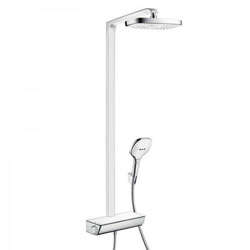 Additional image for Raindance Select E 300 Eco Shower Pack (White & Chrome).