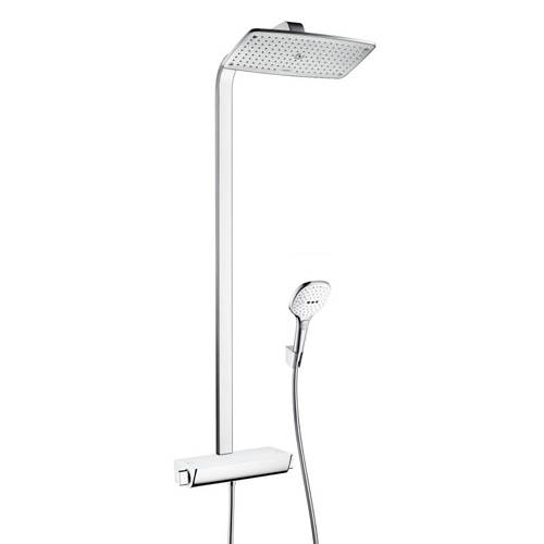 Additional image for Raindance Select E 360 Eco Shower Pack (White & Chrome).