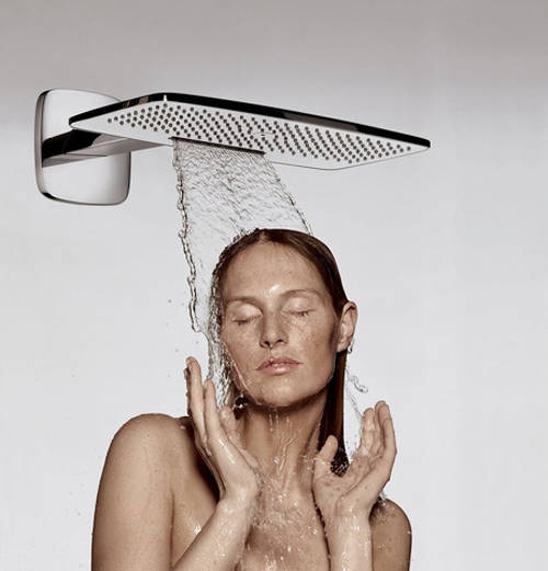 Additional image for Raindance E 430 2 Jet Shower Head With Arm (430x220mm, Chrome).