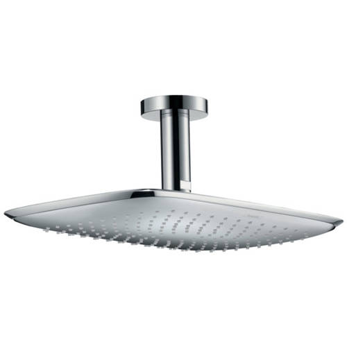 Additional image for PuraVida 400 Shower Head & Ceiling Arm (390x260, Chrome).