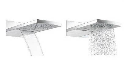 Additional image for Raindance Rainfall 180 Air 2 Jet Shower Head (180mm).