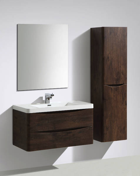 Additional image for Bali Bathroom Furniture Pack 01 (Chestnut).