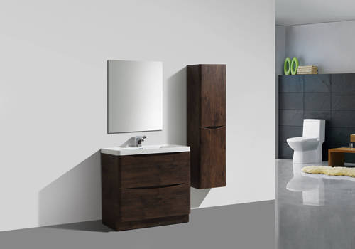 Additional image for Bali Bathroom Furniture Pack 02 (Chestnut).