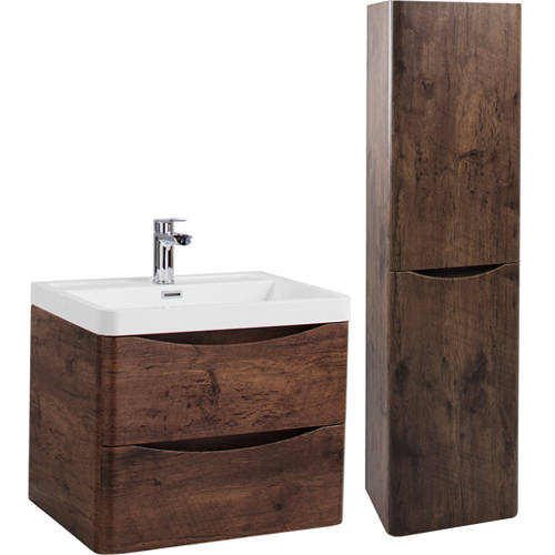 Additional image for Bali Bathroom Furniture Pack 03 (Chestnut).
